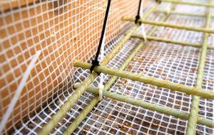 Использование стеклопластиковой арматуры для мзлф