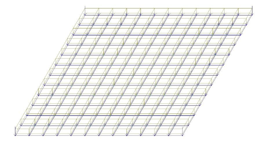 Плита основания смешанного 2х этажного здания. Определение возможности замены арматуры фундаментной плиты класса А-III на стеклопластиковую, при условии сохранения несущей способности плиты