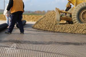 Строительная и дорожная Базальтовая сетка
