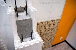 Строительство несъемной опалубки из пенопласта