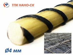 Стеклобазальтовая арматура 4 мм