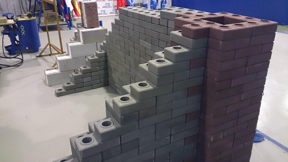Лего кирпич для стройки